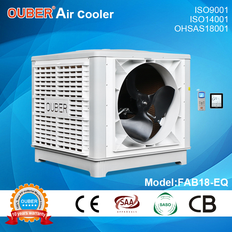 FAB18-EQ 18000 air duct machine/3 speeds/fixed axial beside air discharge