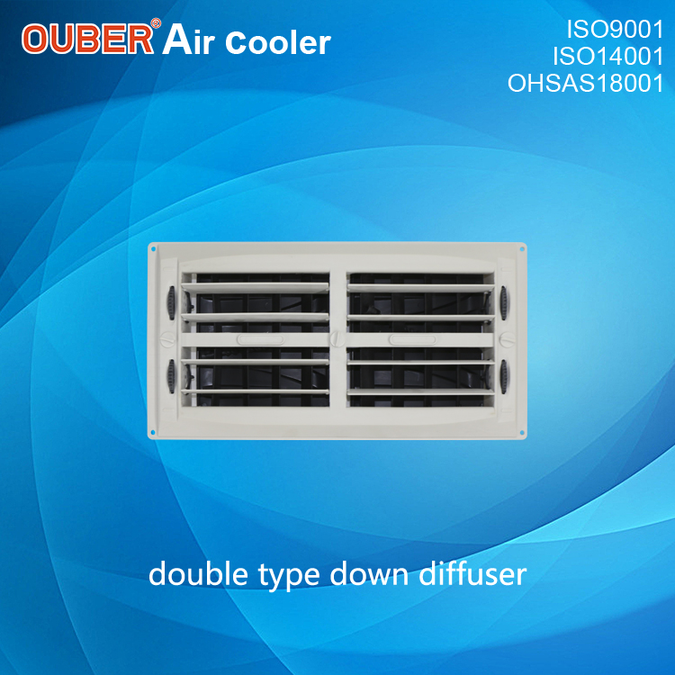 double type down diffuser